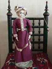 ANTIQUE FRENCH  FASHION DOLL -17 inches JUMEAU.