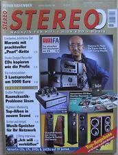 Stéréo 11/09 Marantz SA-KI/PM-Ki Pearl, Tannoy DC 10 T, Audio Research SVI 60