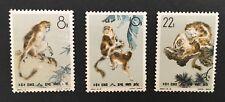 PRC China 1963. S60. Golden Haired Monkey. Sc#713-5. M.H. CV$71.