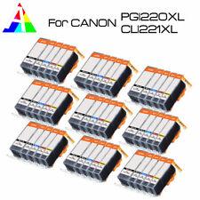 45 PK Printer Ink Cartridges use for Canon PGI-220 CLI-221 MX860 MX870 iP3600