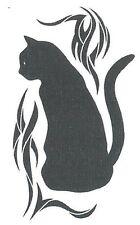 BLACK CAT Temporary Tattoo