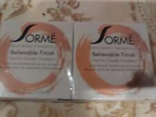 Sorme Believable Finish Powder Foundation - Honey Dusk 405 (2 pack)