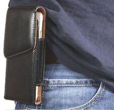 FONDINA in Pelle Pu Custodia Cover Sacchetto Con Clip Cintura ad anello titolare per per iPhone 8