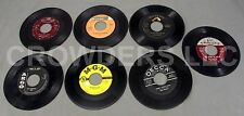 "7"" 45 rpm Vinyls Rod Bernard Tommy Edwards Sammy Davis Jerry Wallace Chordettes"