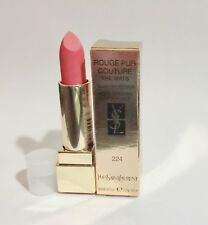 Yves Saint Laurent Rouge Pur Couture The Mats Shade 224 Rose Illicite TsT