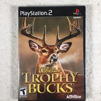 Cabela's Trophy Bucks (Sony PlayStation 2, 2007) PS2 (New Sealed)