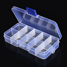 10 Value 2x5 Grids 130x67x23mm Electronic Components Storage Assortment Box