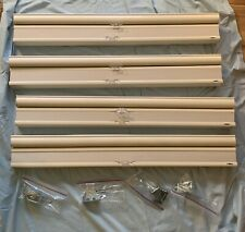 Set Of 4 -Bali's Antique White Double Cellular Cordless Window Shades-New -