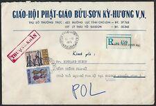 Vietnam US 1971 Enregistrée To Président Richard Nixon Cia Agent En Saigon
