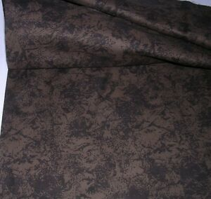 838J Basic Realities by JINNY BEYER for RJR Cotton Quilt Fabric BROWN MARBLE 1YD