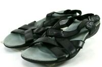 Merrell Bassoon $80 Women's Slingback Sandals Size 8 Leather Black