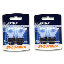 Sylvania SilverStar - Two 2 Packs - 3057ST Light Bulb Back Up Brake zg
