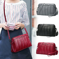 Womens Clutch Satchel Crossbody Shoulder Bags PU Leather Messenger Handbag Bags