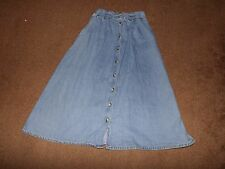 Mi River Blues denim skirt size 10