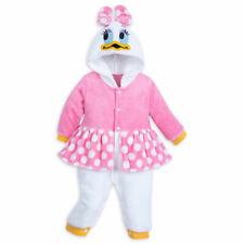 Disney Store Daisy Duck Baby Fleece Costume Baby Romper Bodysuit Halloween 9/12