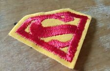 SUPERMAN vintage ECUSSON en tissus à coudre DC COMICS INC Made in USA