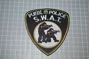 Pueblo Police Colorado SWAT Patch (B17-N)