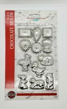 NEW Norpro Chocolate - Butter - Mini Cookie Molds, Set of 12 3703