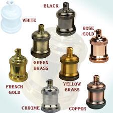 Vintage Industrial Lamp Lighting Antique Retro Edison E27 Bulb Holder Fitting UK