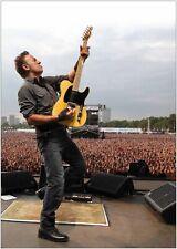 Bruce Springsteen Music Large CANVAS Art Print A0 A1 A2 A3 A4