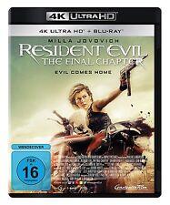 4K Ulra HD Blu-ray * RESIDENT EVIL : THE FINAL CHAPTER # NEU OVP +