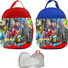 Super Mario Odyssey #1 Personalised Childs Lunch Bag