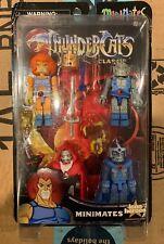 Thundercats Minimates 4 Figure Set Lion-o, Jaga, Grune & Mumm-ra - Sealed & NIB!