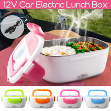 FP- AU_ Portable Electric Heater Lunch Box Car Plug Food Bento Warmer Storage Co