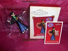 2002 HALLMARK ORNAMENT THE INVISIBILITY CLOAK HARRY POTTER THE SORCERER'S STONE