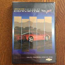 2005 Chevrolet Corvette NOS GM Sales Training DVD/CD-ROM