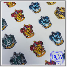 24 x Circle Stickers Variety Pack Harry Potter House Colour Emblem Designs