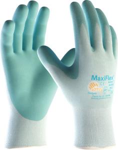 12 x Maxiflex 34-824 Active Gardening Lightweight Palm Coated Knitwrist Gloves