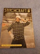 Original Vintage Stitchcraft Magazine November 1956