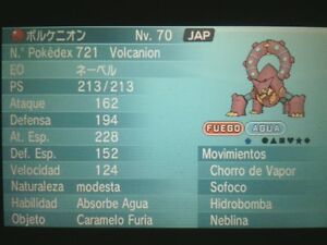 Legit 6IVs Event! Movie Volcanion for Pokemon X/Y OR/AS + Free Item