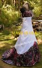 NEW Camo Muddy Girl Wedding Gown, SATIN- MADE ONLY IN USA!