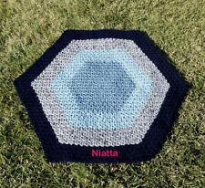 wool rug, floor mat, handmade carpet, pet bed, woven rug, crochet rug