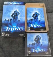The Thing 2002 PC Game CDRom Original Box Complete