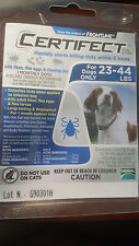 Merial Frontline Certifect Flea and Ticks Dog 23-44 lbs Blue, 1 Month Dose