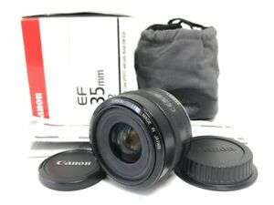 Near MINT in BOX Canon EF 35mm f/2 AF Wide Angle Lens Canon EOS Mount Japan