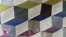 Home Decor Heavy Upholstery Multicolor Fabric by the Yard