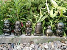 Star Wars R2,BB8,Chewy,Vader,Yoda & C3-PO Garden Ornaments-Gold -Free UK P&P