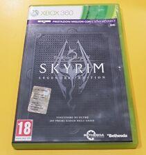 The Elder Scrolls V Skyrim Legendary Edition GIOCO XBOX 360 VERSIONE ITALIANA