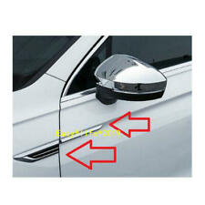 For VW Tiguan Mk2 2017 2018 2019 ABS Side door  Wing Fender Emblem Badge Sticker