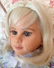 New Monique RACHEL Doll Wig Pale Blonde Sz 14-15 Fits My Twinn 23""