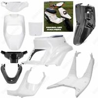 6 FAIRINGS BIANCO + 3 BLACK UNPAINTED MBK BOOSTER SPIRIT BW'S ORIGINAL '88/'03