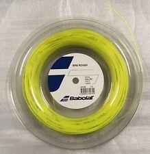 Babolat RPM Blast ROUGH 17 1.25mm 660ft 200m Reel Tennis YELLOW String NADAL