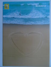 Renault Range brochure 2001 - Clio, Kangoo, Megane, Scenic, Laguna, Espace.