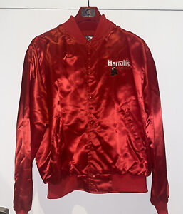 Back Bay Exchange HARRAH's Atlantic City BOXING Embroidered (XL) Jacket Red