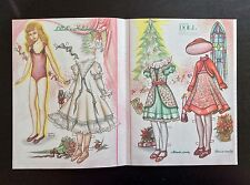 Lillah's Holidays Mag. Paper Doll By Carole Plough, 1998