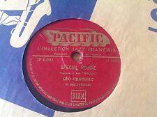 78 rpm EUROJAZZ- LEO CHAULIAC - special boogie - PACIFIC JF 5.031